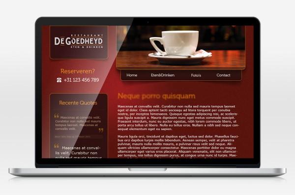 De Goedheyd webdesign